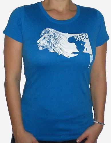 Lion Tee Hellblau für Frauen